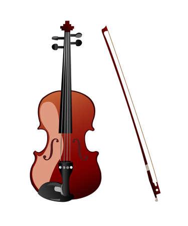 violin Stock Vector - 8050141
