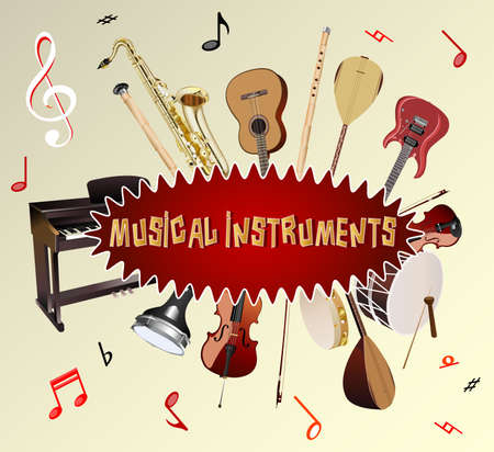 Music instuments Vector