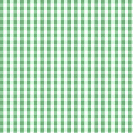 Seamless green plaid pattern Stock Vector - 8045165