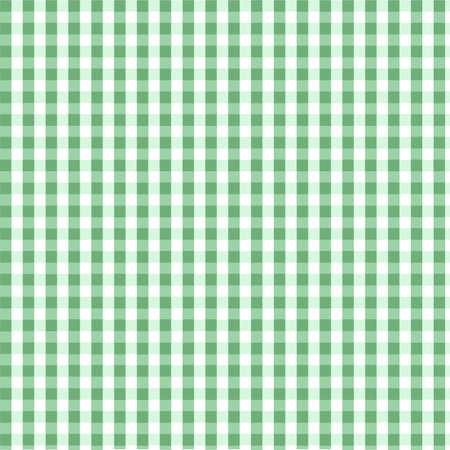 Seamless green plaid pattern Stock Vector - 8045165