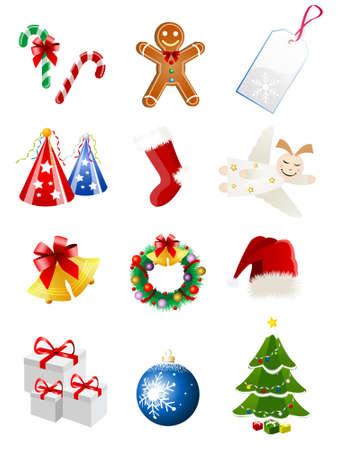 angel tree: christmas icons