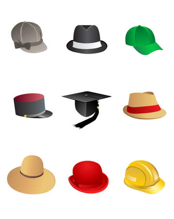 hats Stock Vector - 8076193