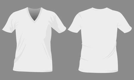 t-shirt, tshirt template Vector