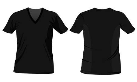 beep: man tshirt, t-shirt templates Illustration