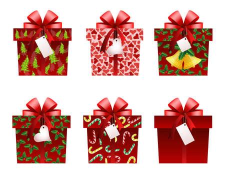 Weihnachts-Geschenk-icons