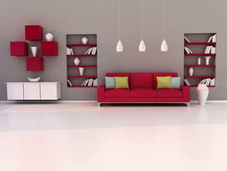 study room, modern room, living room photo
