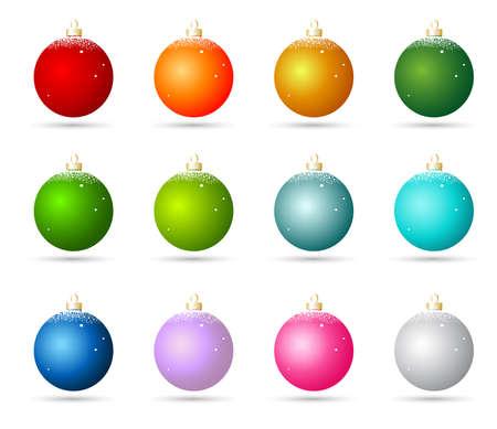 Christmas ornaments Stock Vector - 8251495
