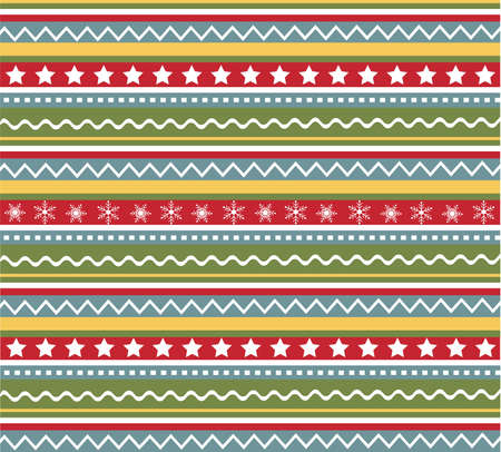 seamless patterns with fabric texture, christmas texture Stock Vector - 8354857
