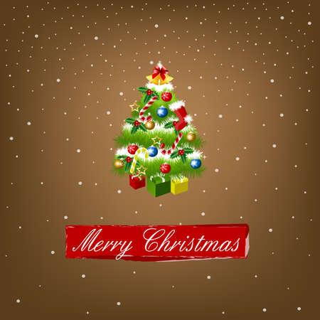Merry Christmas Stock Vector - 8354861