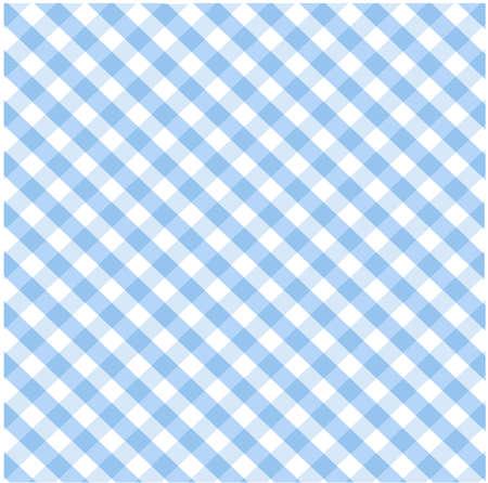 Seamless blue plaid pattern Stock Vector - 8647717