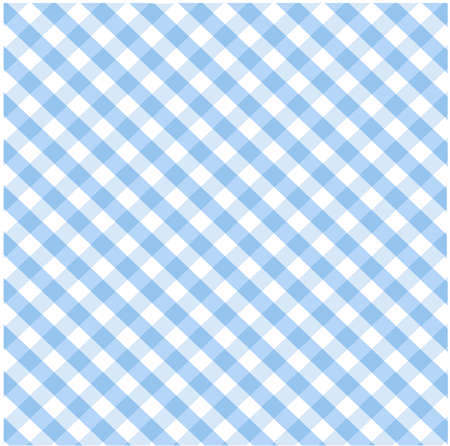 Seamless blue plaid pattern Stock Vector - 8647717