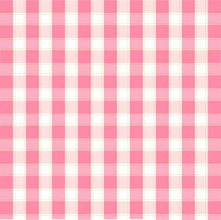 Seamless pink plaid pattern Stock Vector - 8647718