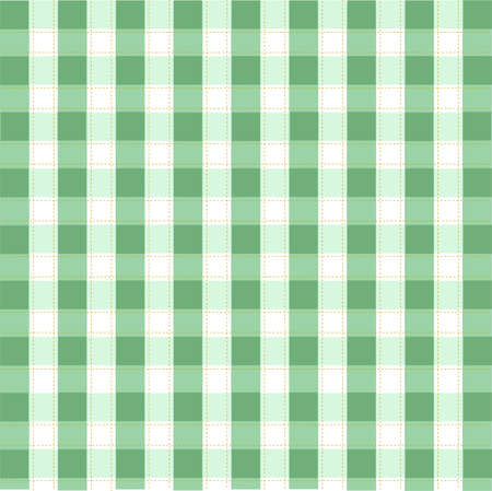 Seamless baby plaid pattern Vector