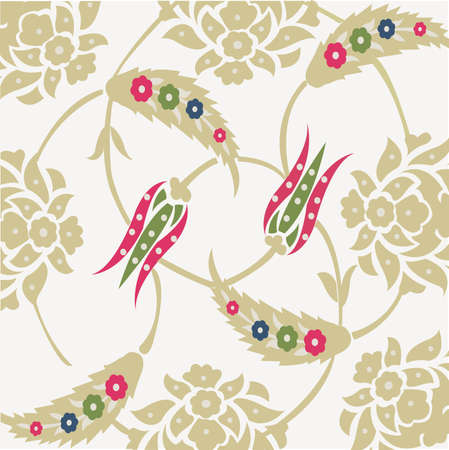 floral seamless: floral background