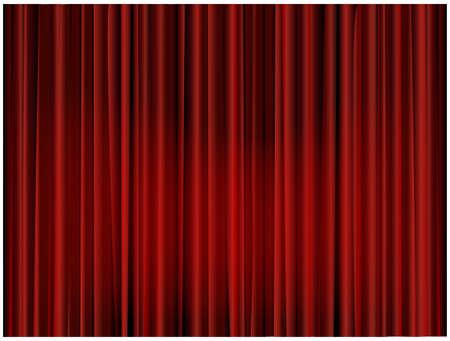 rideaux rouge: Arri�re-plan de Rideau de th��tre