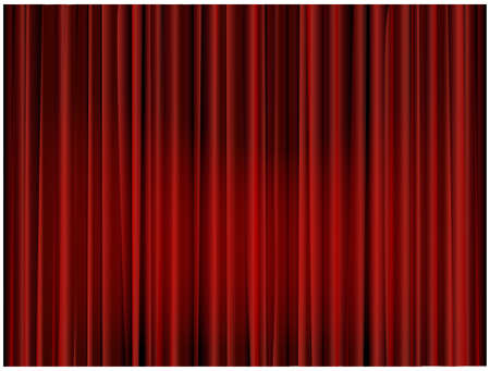 red curtain: Theater curtain background