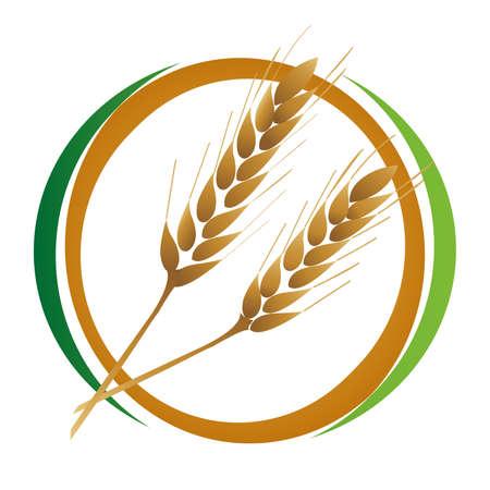 Wheat icon Stock Vector - 8915762