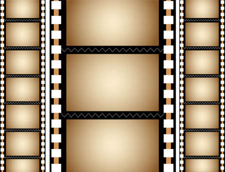 cinema strip: film frame