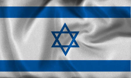 israel flag Stock Photo - 8907050