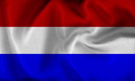 holland: holland flag Stock Photo