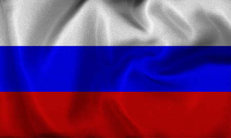 russia flag Stock Photo - 8907008