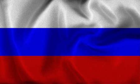 russia flag Stock Photo - 8907008