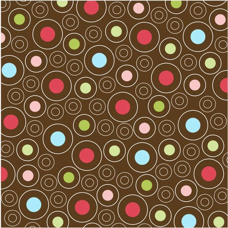 seamless patterns with fabric texture Stock Vector - 8580561