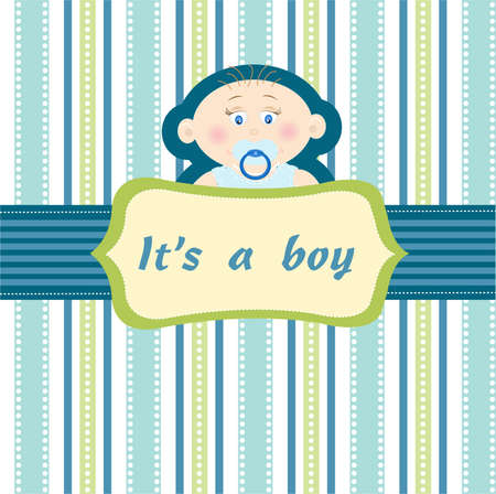 baby boy Stock Vector - 8580562