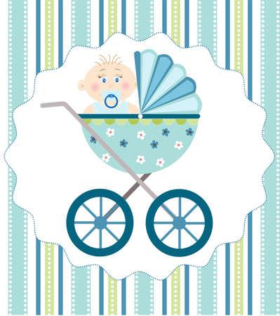 pram: baby boy arrival