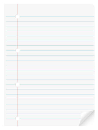 page , paper , notepad Vector