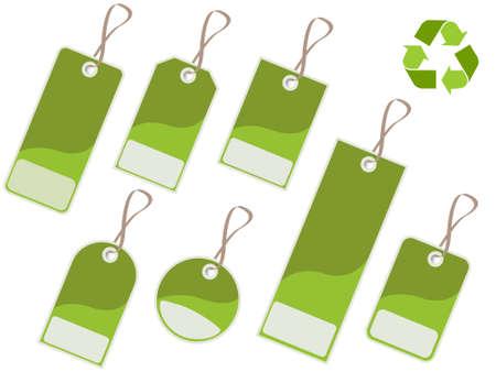 enviromental: Reciclar las etiquetas
