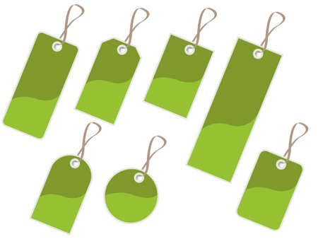 tags, label Stock Vector - 8763914