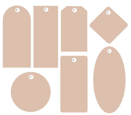 tags, label Illustration