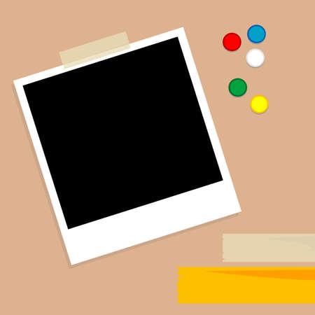 blanck: polaroid, photo