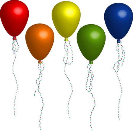 art balloon: balloons Illustration