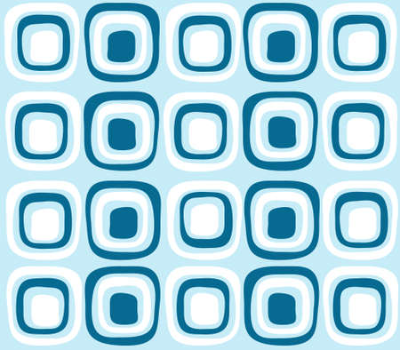 repeat square: retro blue background, wallpaper
