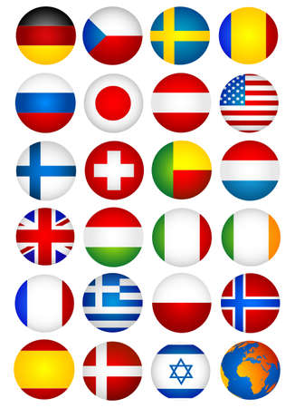 flags Stock Vector - 8725356