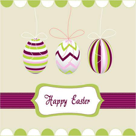pascuas navide�as: Feliz Pascua de resurrecci�n, huevos