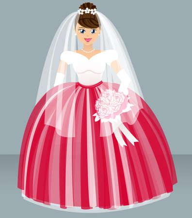 wedding - bride Vector