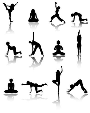 yoga Stock Vector - 8921236