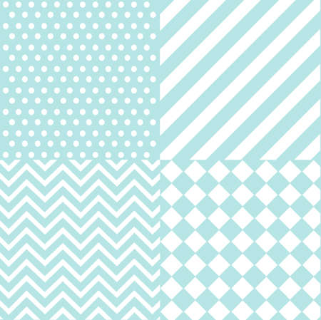seamless baby boy pattern, wallpaper Vector