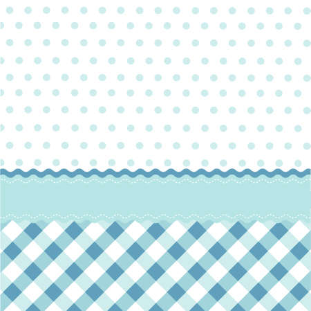 seamless baby blue pattern, wallpaper Vector