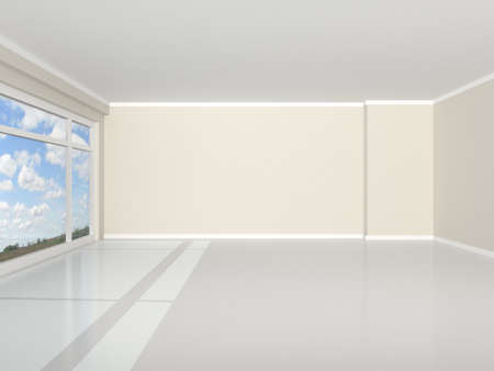 3d rendering the empty room Stock Photo - 9204029