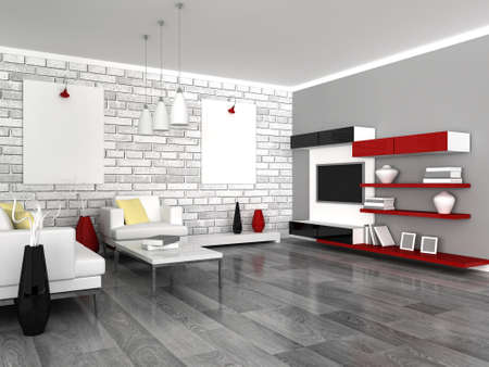 interior of the modern room Stock Photo - 9282031