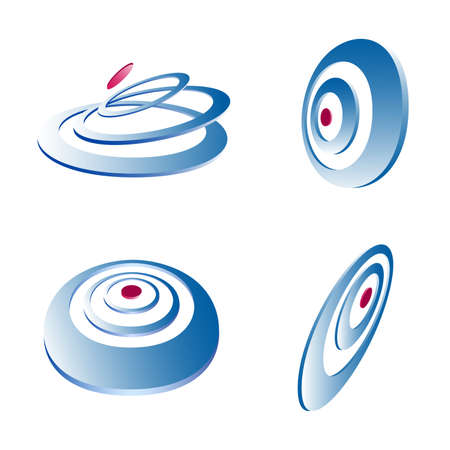 Business logo, icon design