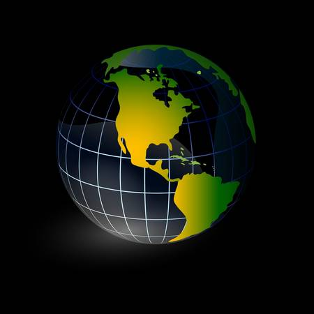 vectorial: World global planet earth icon