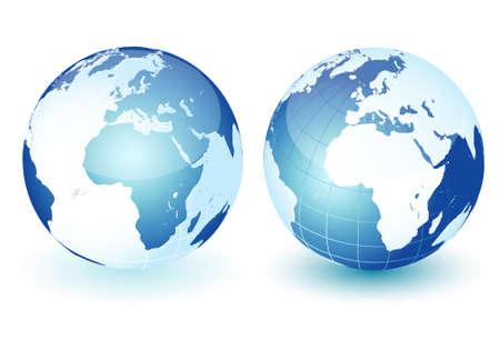conciencia moral: Iconos de mundo global del planeta tierra