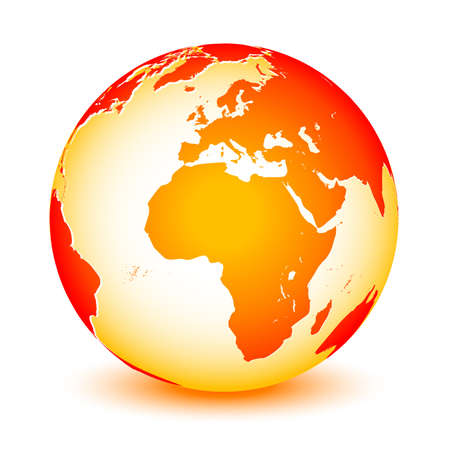lozenge: World global planet earth icon