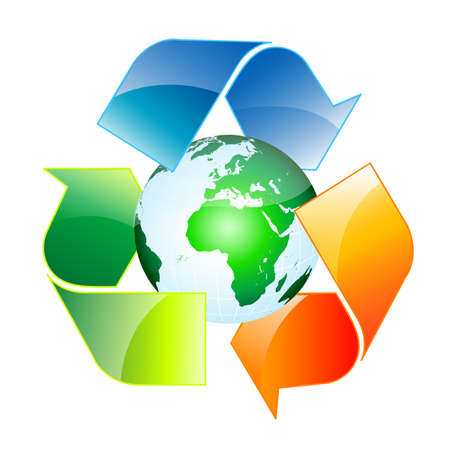 earth friendly: Reciclaje mundial