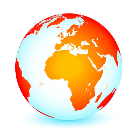 World global planet earth icon Stock Vector - 9490002